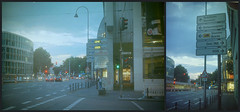 Köln / Cologne Streets - Kodak Portra 400 - Zeis Rangefinder