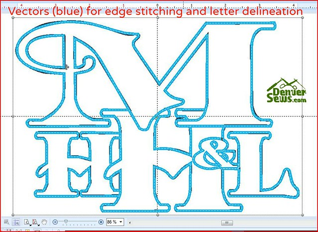 VectorsForEdgeStitching