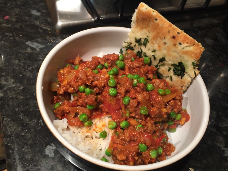 7 Pot Keema : Serve with  rice and naan