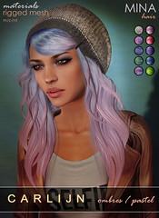 MINA Hair - Carlijn  Pastels for the Dressing Room Fusion