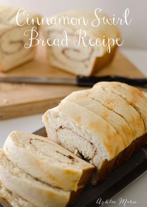 easy to make cinnamon swirl bread