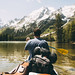 Leigh Lake Canoeing by kylesipple☬