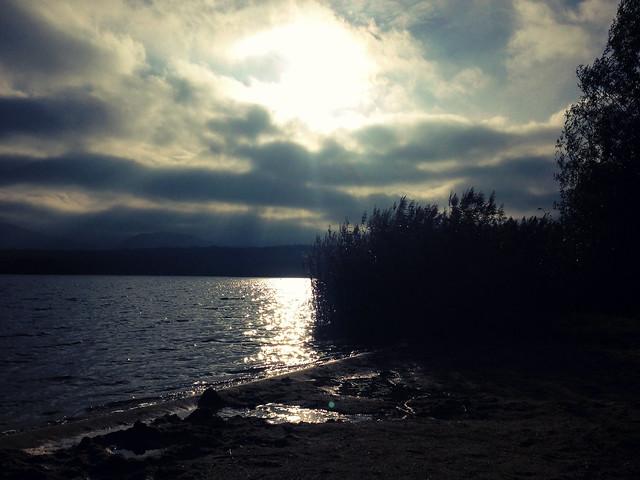 Plätschernder See