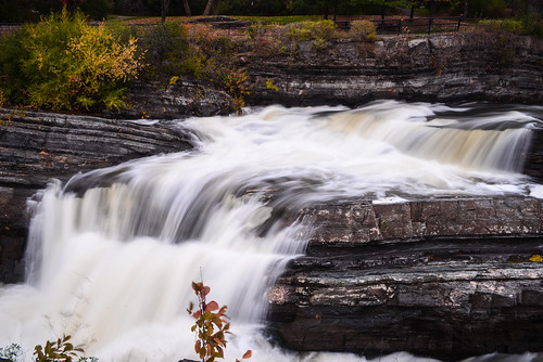 park ontario canada fall waterfall long exposure ottawa falls ncr 2014 autimn photothiel