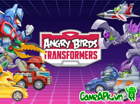 Angry Birds Transformers v1.2.13 hack full tiền cho Android
