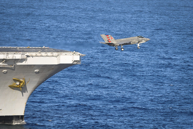 Completes Initial Sea Trials Aboard Aircraft Carrier Commander Pacific Fleet