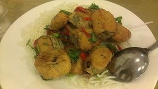 Seasoned Salt & Pepper Spicy Nori Soy Slices at Green Gourmet