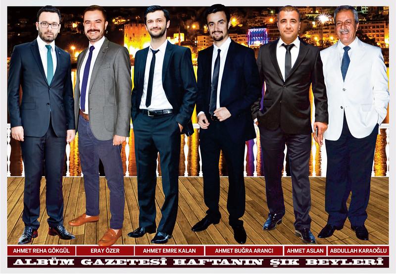 Ahmet Reha Gökgül, Eray Özer, Ahmet Emre Kalan, Ahmet Buğra Arancı, Ahmet Aslan, Abdullah Karaoğlu