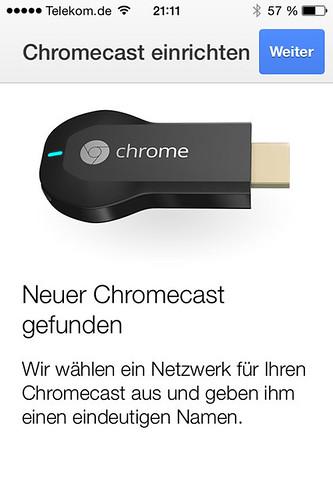12 - Google Chromecast - Chromecast auswählen