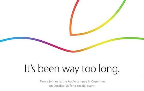 Презентация iPad и Mac 16 октября