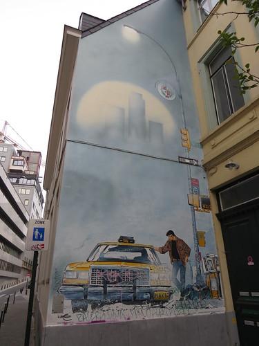 Public cartoon art