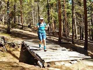 Running Mitchell Creek Loop Trail