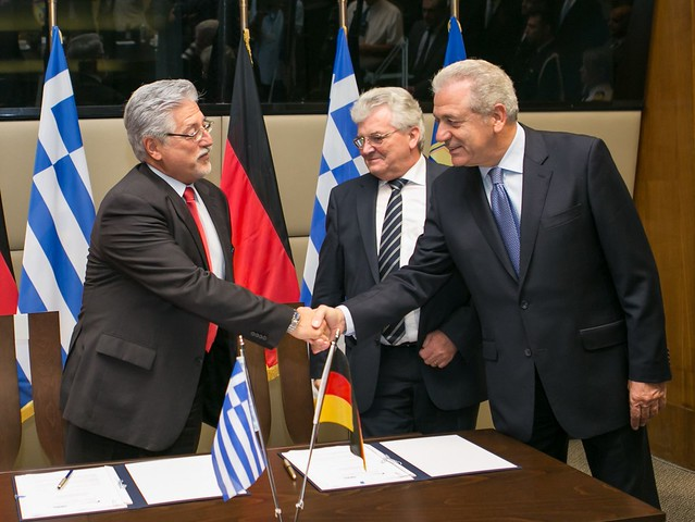 Υπογραφές συμφωνιών στρατηγικής συνεργασίας ΕΑΣ με RHEINMETALL και LOCKHEED MARTIN