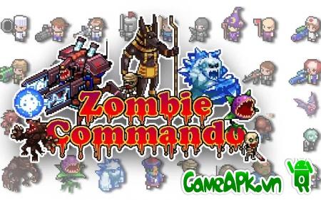 Zombie Commando v1.0 hack full tiền cho Android