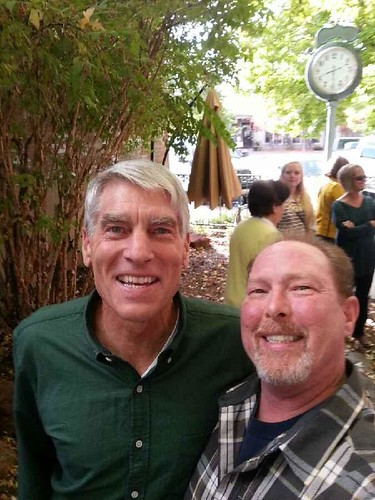 U. S. Senator Mark Udall and Thinking Fella