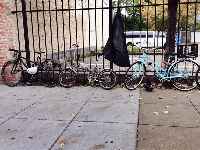Bike parking at Compass Coffee #bikedc