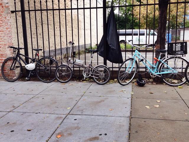 Bike parking at Compass Coffee #bikedc