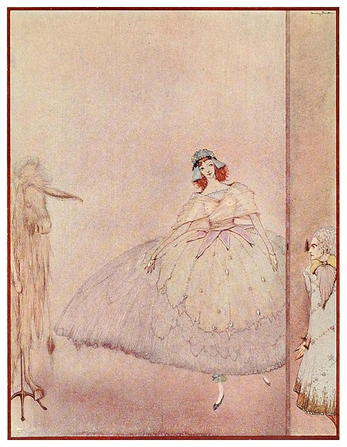 020-Piel de burro-The fairy tales of Charles Perrault-1922- Harry Clarke
