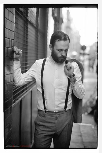 Mens Fashion, London (35mm Film)