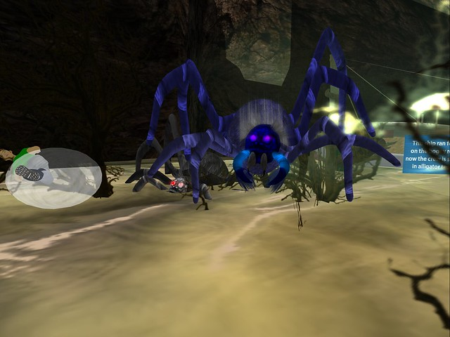 Bannon's Vanisher -Spiders In Blue