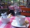 Barrique-Obstler und Kaffee