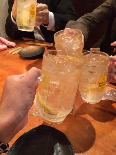 とりぞの 六本木 ハイボールで乾杯!