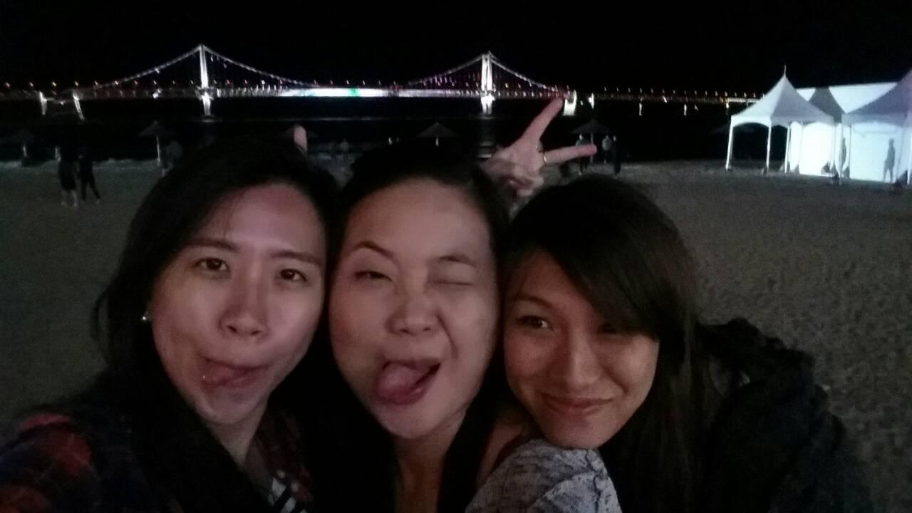 26 Sep 2014: Gwangan Beach & Gwangan Bridge