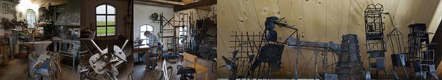 In het atelier van Gerlinde Habekotté