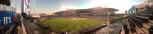 Panoramic Photo of Royals Stadium from 2015 Season
