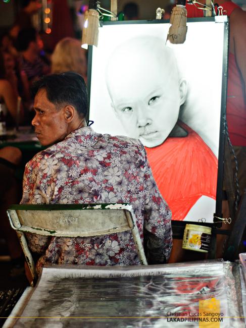 Paintings at the Chiang Mai Night Bazaar