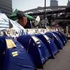 Tent city blue