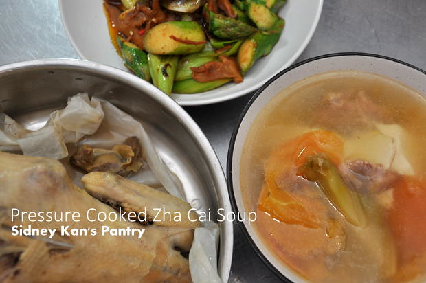 Recipe Zha Cai Soup at Sidney's Pantry