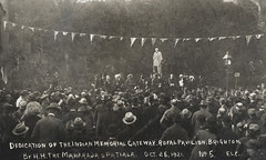 Dedication of the Indian Memorial Gateway