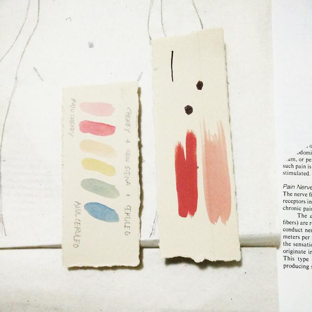 pruebas de color.