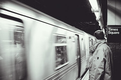 New York Underground: Time Square N Train