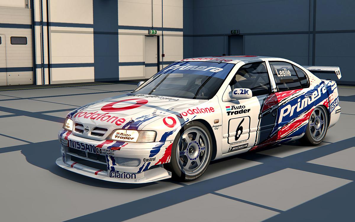 Релиз мода Nissan Primera BTCC 1999 version 0.5a