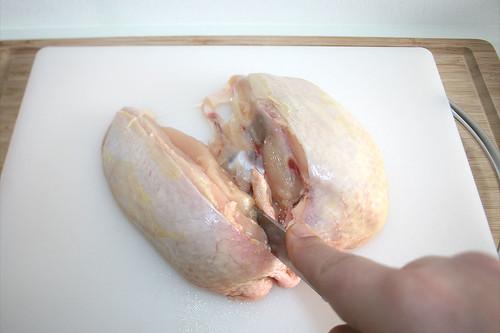 21 - Hähnchen zerteilen / Dismember chicken