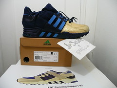 RONNIE FIEG x ADIDAS CONSORTIUM EQT SUPPORT '93 - NYC'S BRAVEST Limited Edition