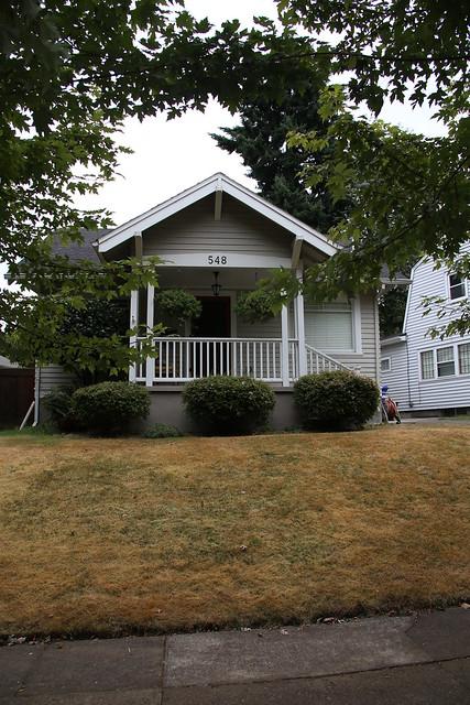 Home of a few days at Bjorn and Megan's Pad.  Portland Oregon USA.