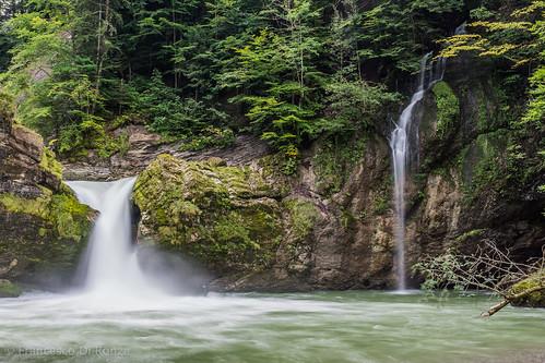 schweiz landschaftlandscape sanktgallen naturnature wasserfallwaterfall nesslaukrummenau flussriver langzeitbelichtunglongtimeexposure giessenfälle