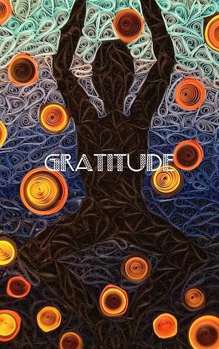 Quilled Gratitude Mosaic