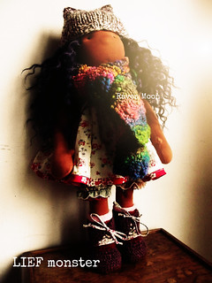 Custom LIEF monster doll made in december