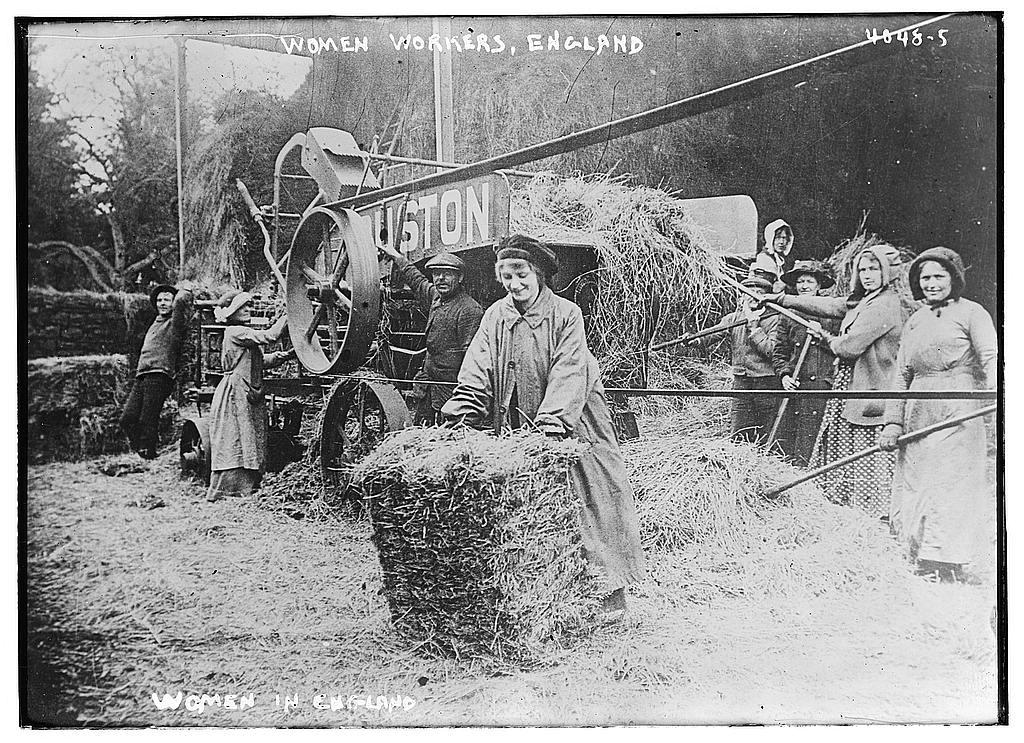 Women workers, Engl. (LOC)