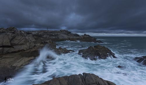 sea cliff mer seascape landscape roc coast côte paysage vague falaise rocher iledyeu wildcoast côtesauvage