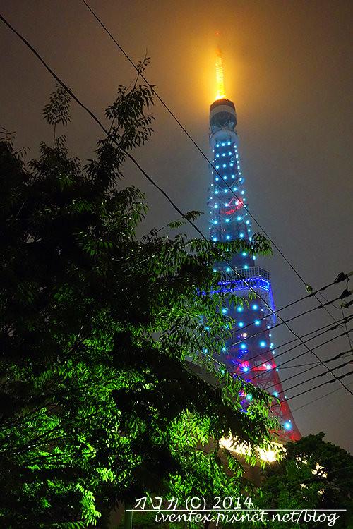 26刀口力日本東京鐵塔