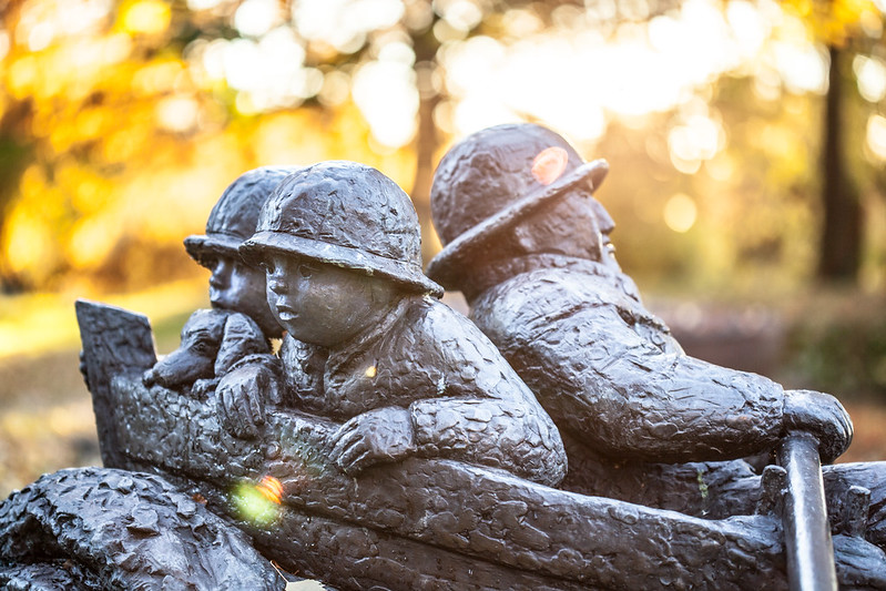 Skulptur på Trosterud