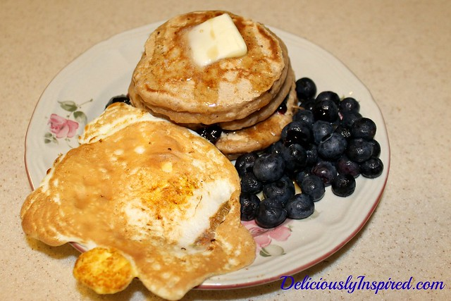 Quinoa Pancakes - Nov 1, 2014