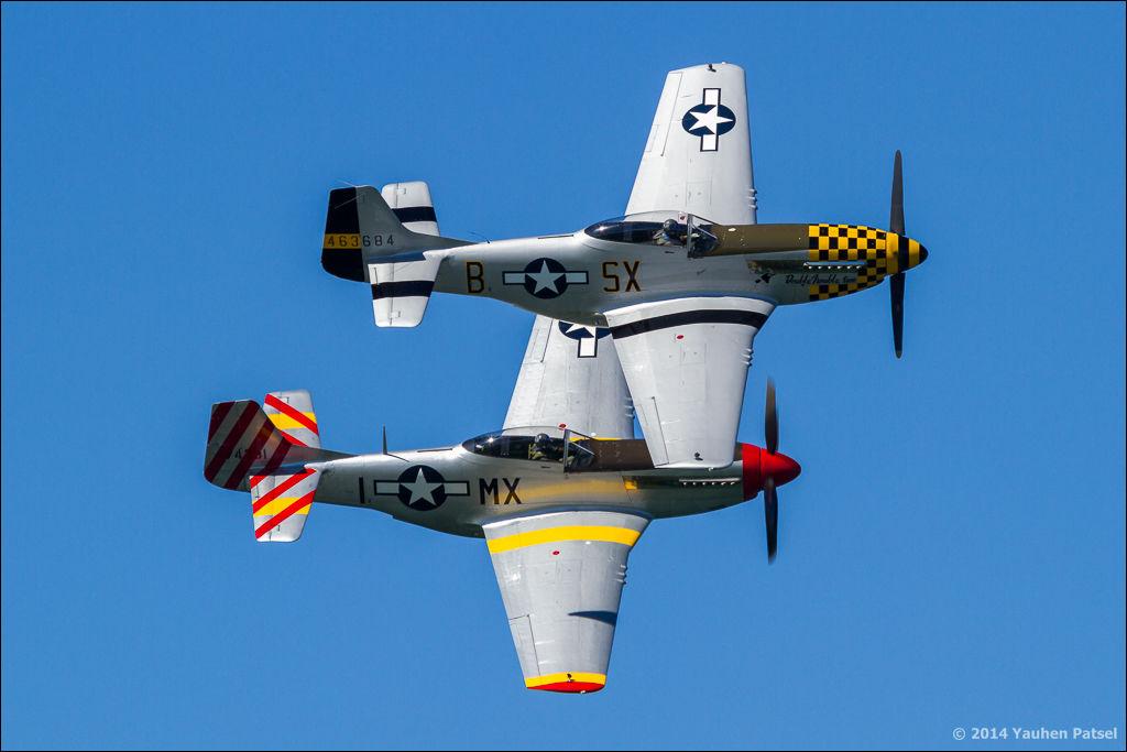 The Horsemen P-51 Flight Team