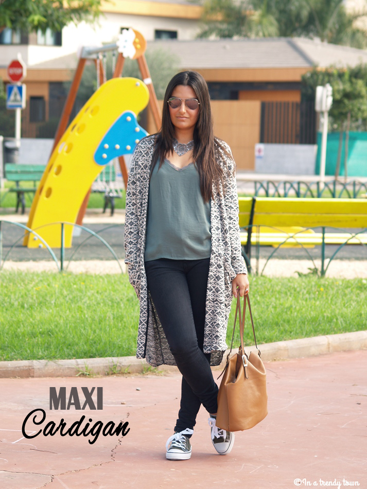 OUTFIT MAXI CARDIGAN