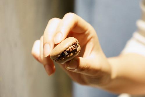 最後的鴨肝慕絲可可碎蛋白杏仁餅